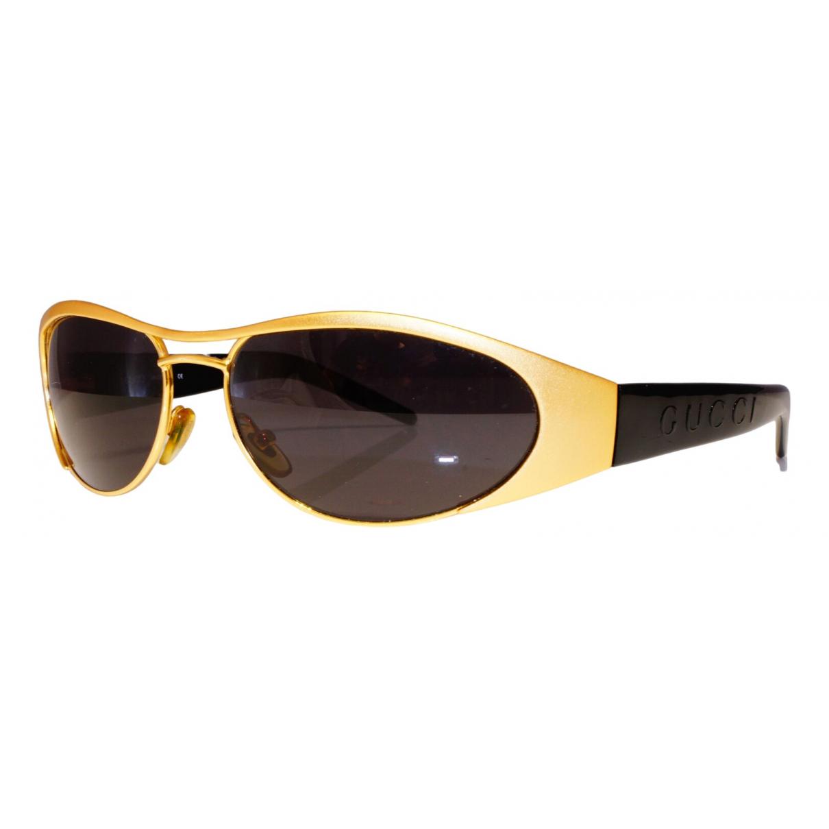 Gucci \N Yellow Sunglasses for Women \N
