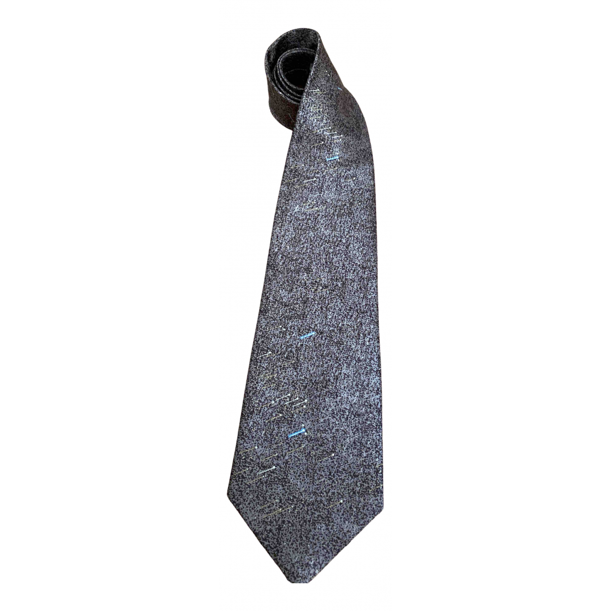 Givenchy \N Brown Silk Ties for Men \N