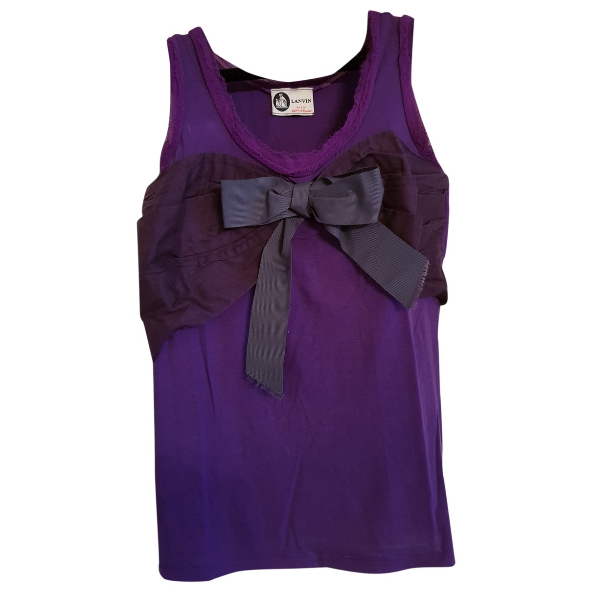 Lanvin \N Purple Cotton Knitwear for Women XXS International