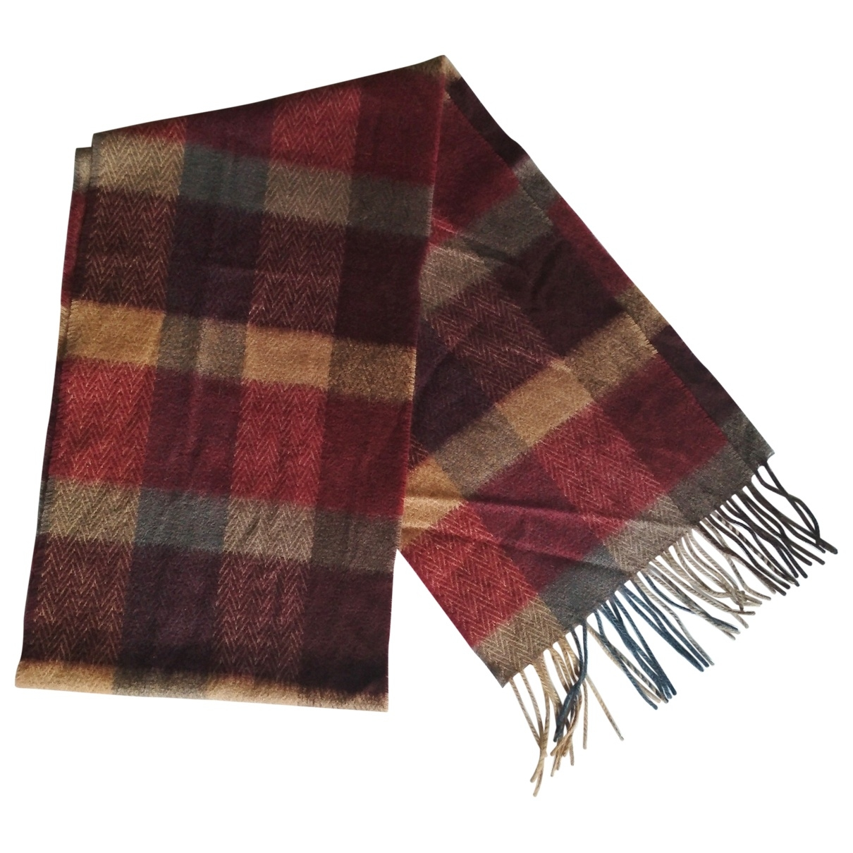 Non Signé / Unsigned \N Multicolour Cashmere scarf for Women \N
