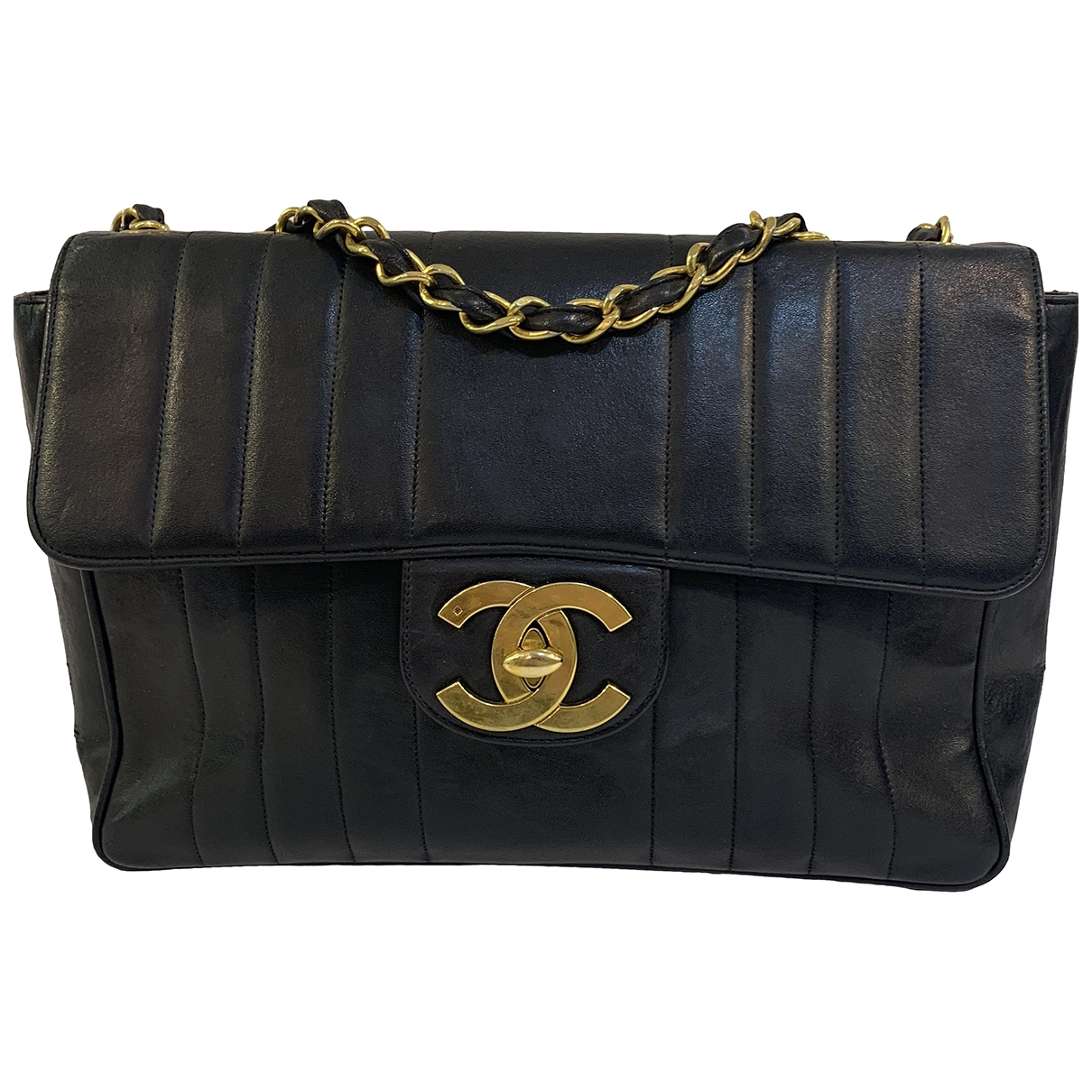 Chanel \N Black Leather handbag for Women \N