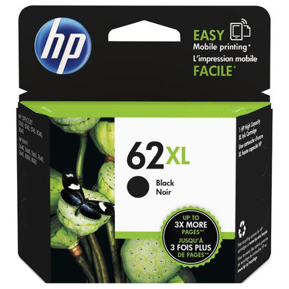 HP 62XL C2P05AN cartouche d'encre originale noire haute capacité