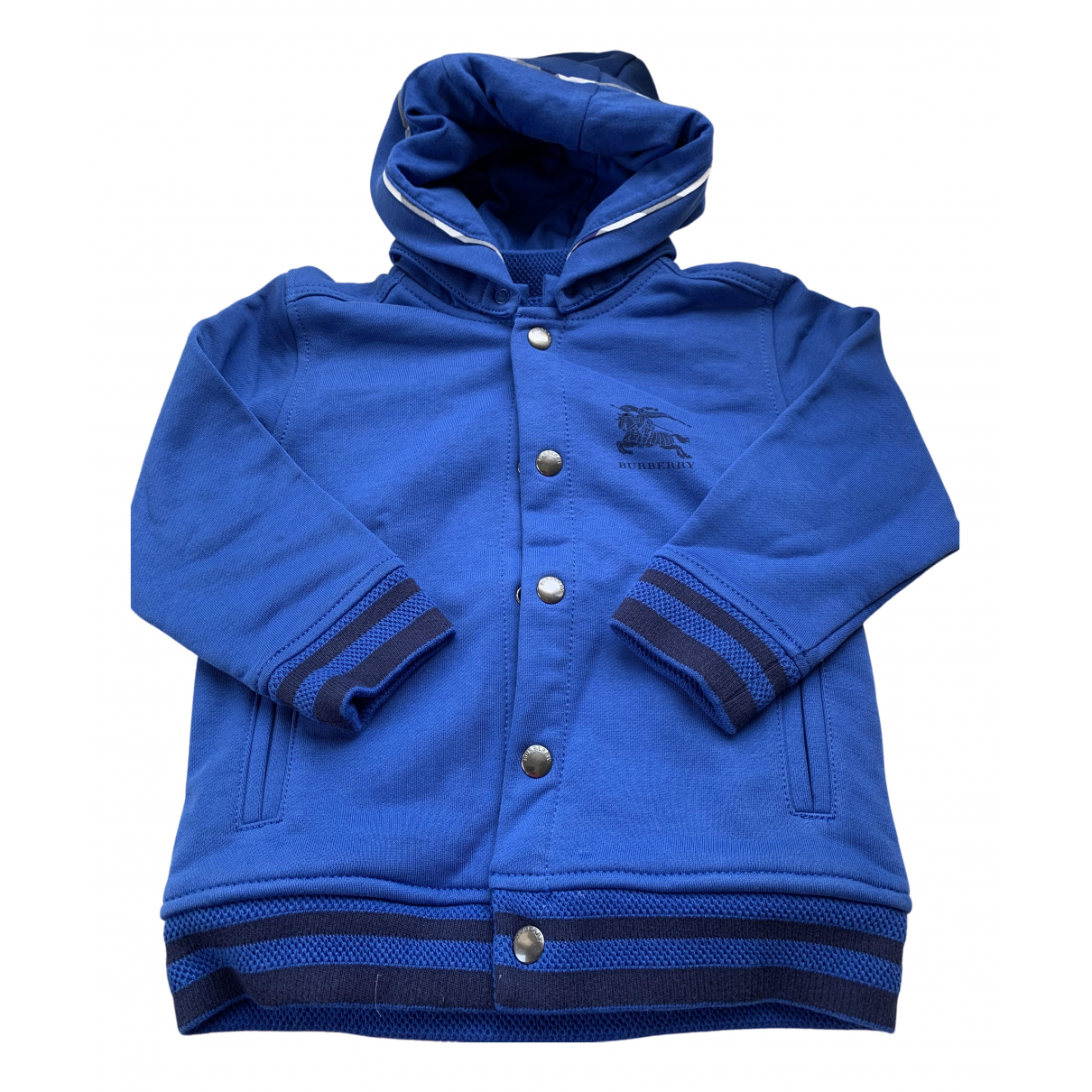 Burberry \N Blue Cotton jacket & coat for Kids 3 years - up to 98cm FR
