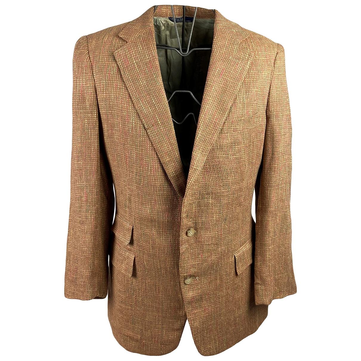 Polo Ralph Lauren \N Brown Linen jacket  for Men L International