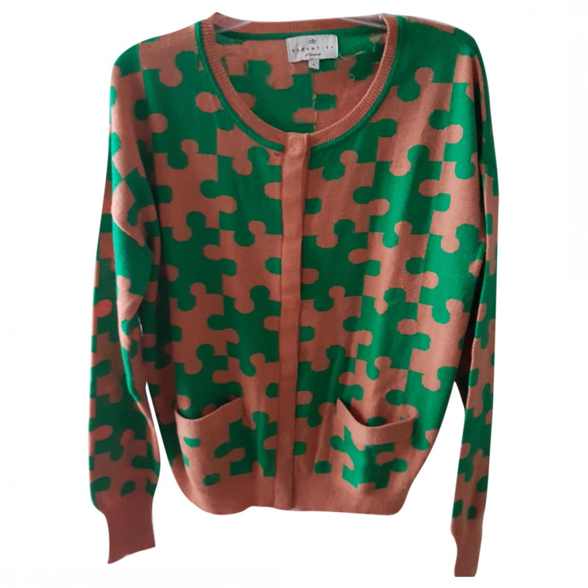 Essentiel Antwerp \N Orange Wool Knitwear for Women S International