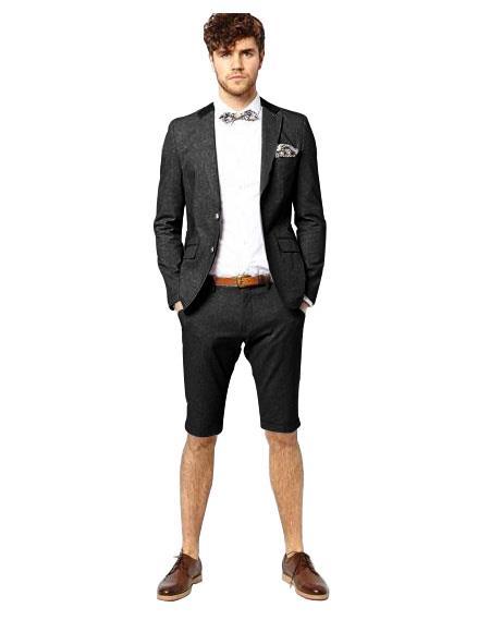 Suit Black Two Button