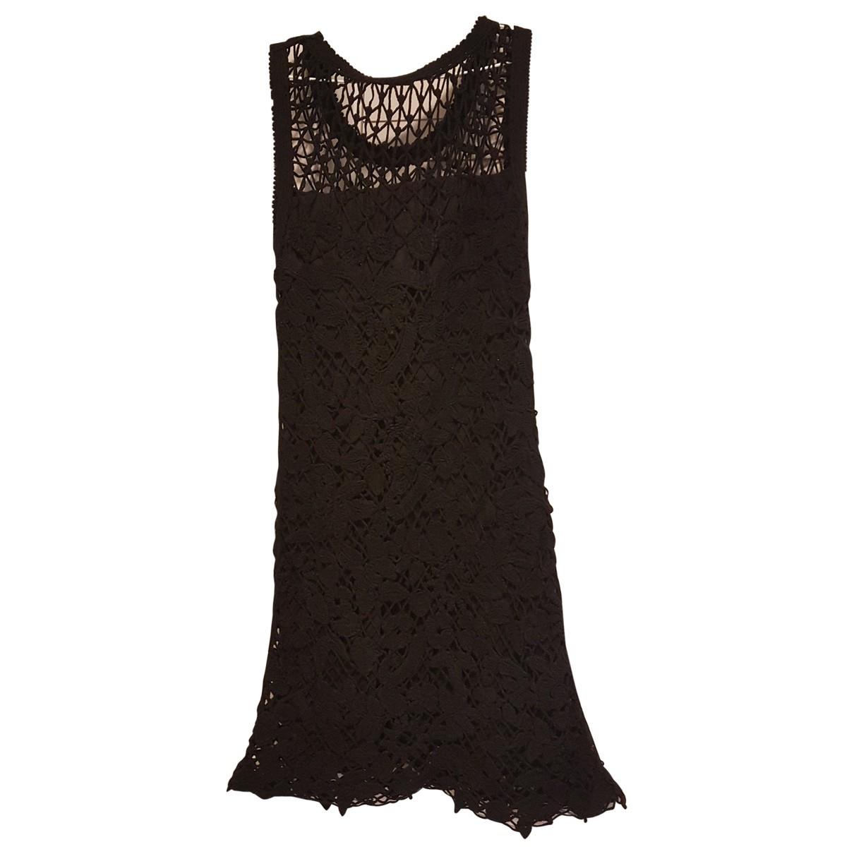 Bimba Y Lola \N Black Cotton dress for Women M International