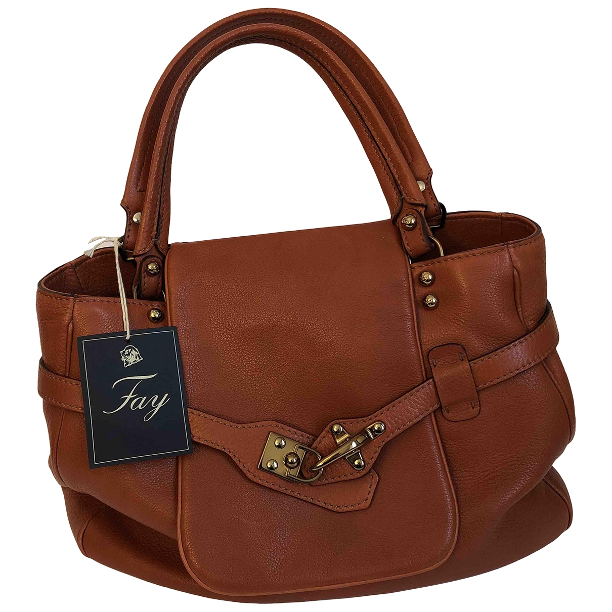 Fay \N Leather handbag for Women \N