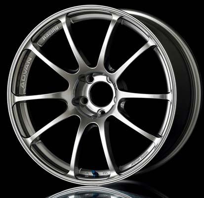 Advan RZ Wheel 17x8.5 5x114.3 45mm Hyper Silver