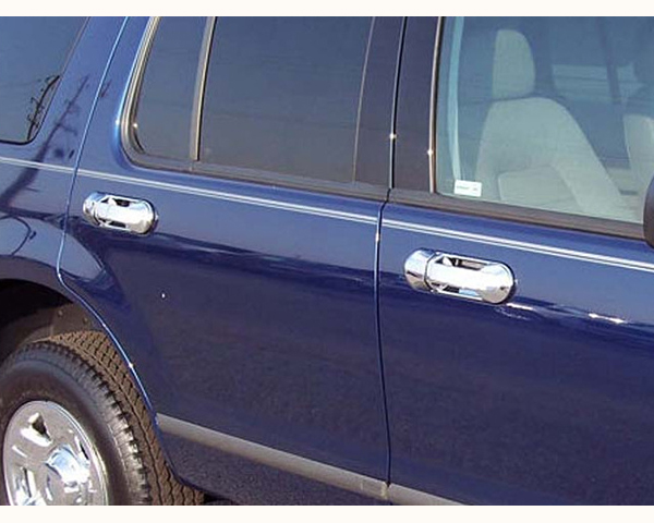 Quality Automotive Accessories ABS   Chrome Door Handle Cover Kit Ford Explorer 2004