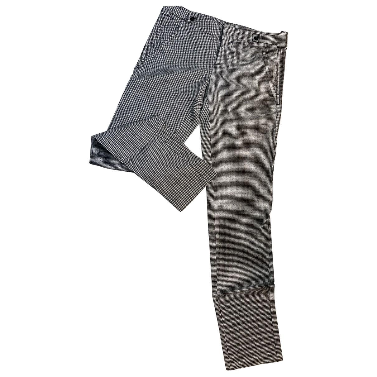 Gucci \N Multicolour Wool Trousers for Women 38 IT