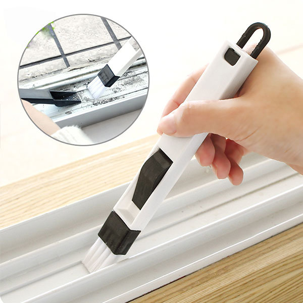 Window Recess Gap Clean Thoroughly Brush Dustpan Keyboard Drawer Crevice Wash Cleaning Tools