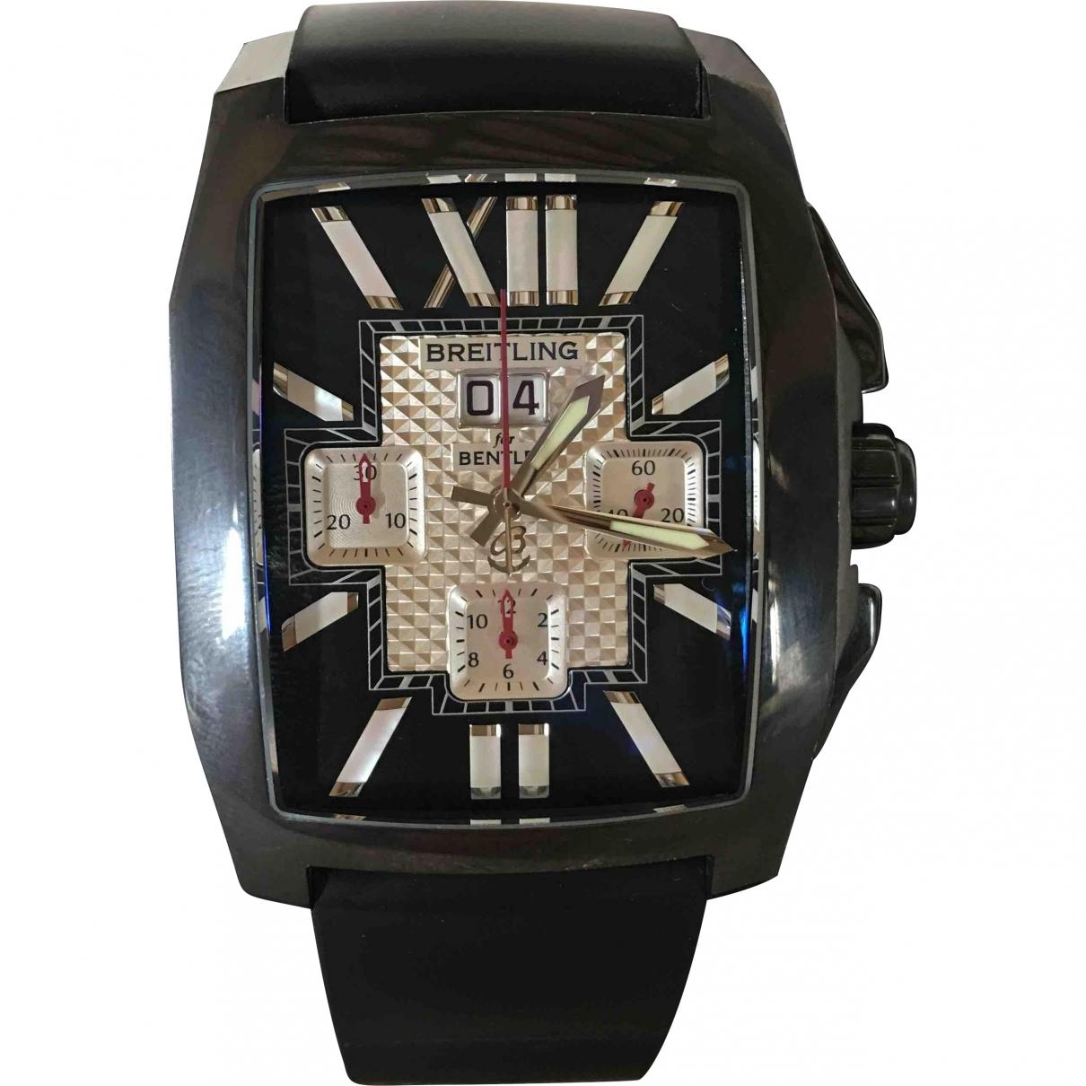 Breitling \N Black watch for Men \N