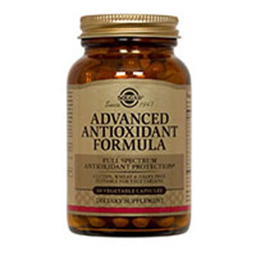 Advanced Antioxidant Formula Vegetable Capsules 60 V Caps by Solgar