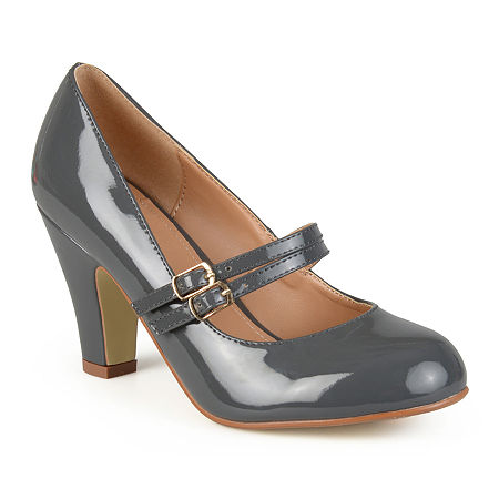 Journee Collection Womens Wendy Pumps, 8 Medium, Gray