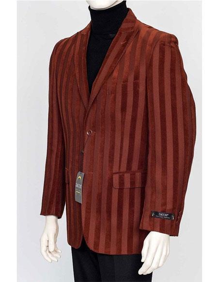 Zacchi Velour Sport Jacket Copper TERRI-71609