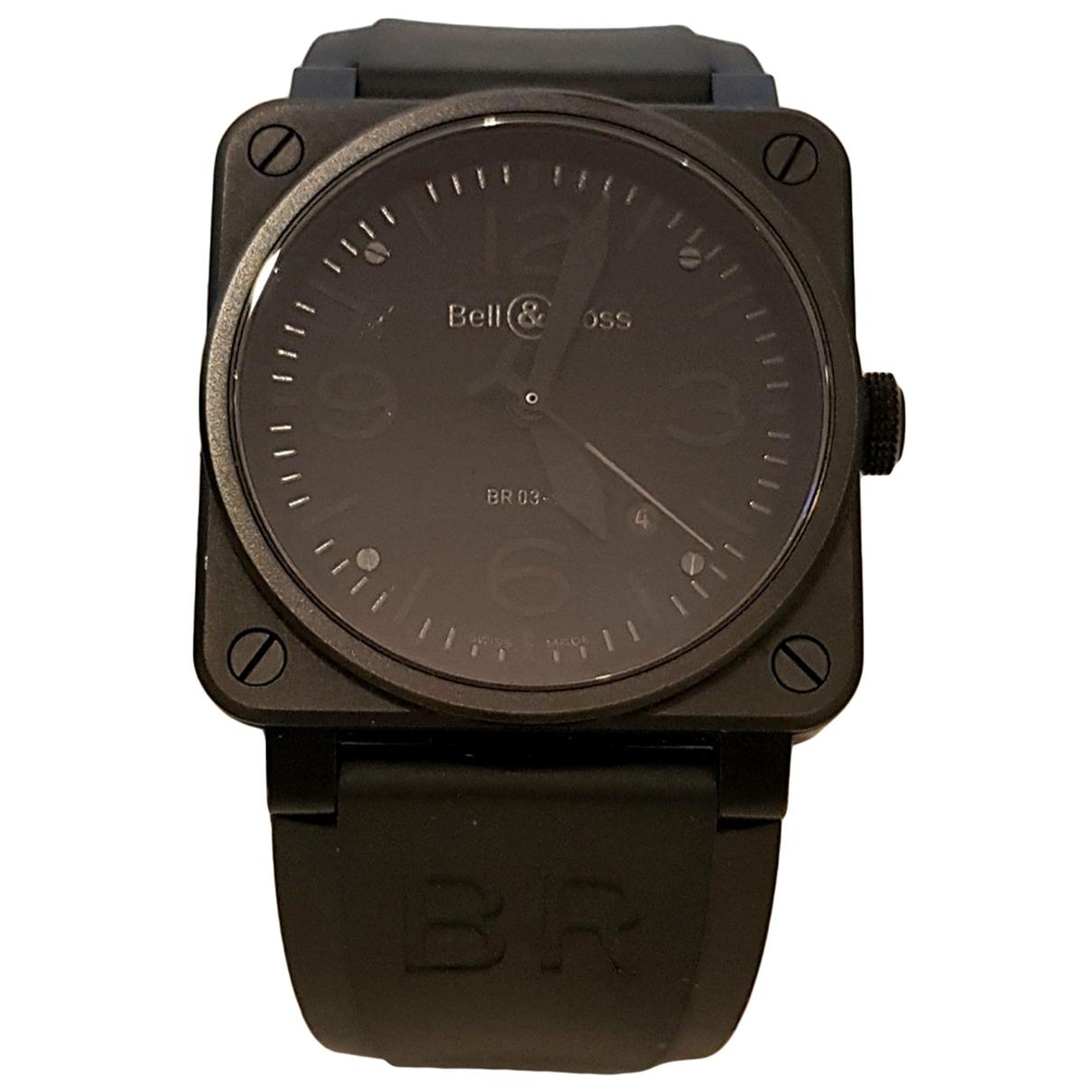 Bell & Ross BR03-92 Phantom Black Steel watch for Men \N