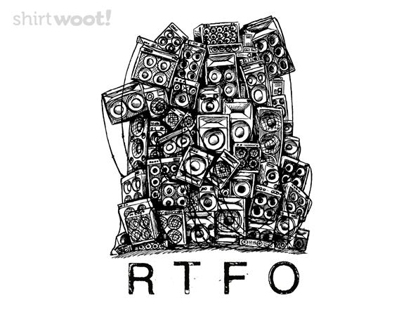 Rtfo T Shirt