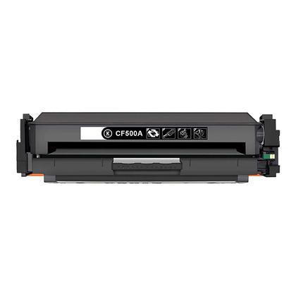 Compatible HP 202A CF500A Black Toner Cartridge - Economical Box