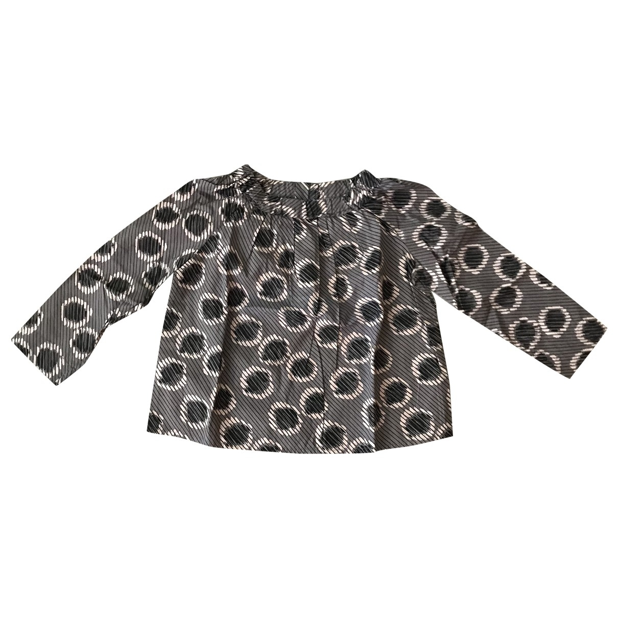 Bonpoint \N Grey Cotton  top for Kids 6 years - up to 114cm FR