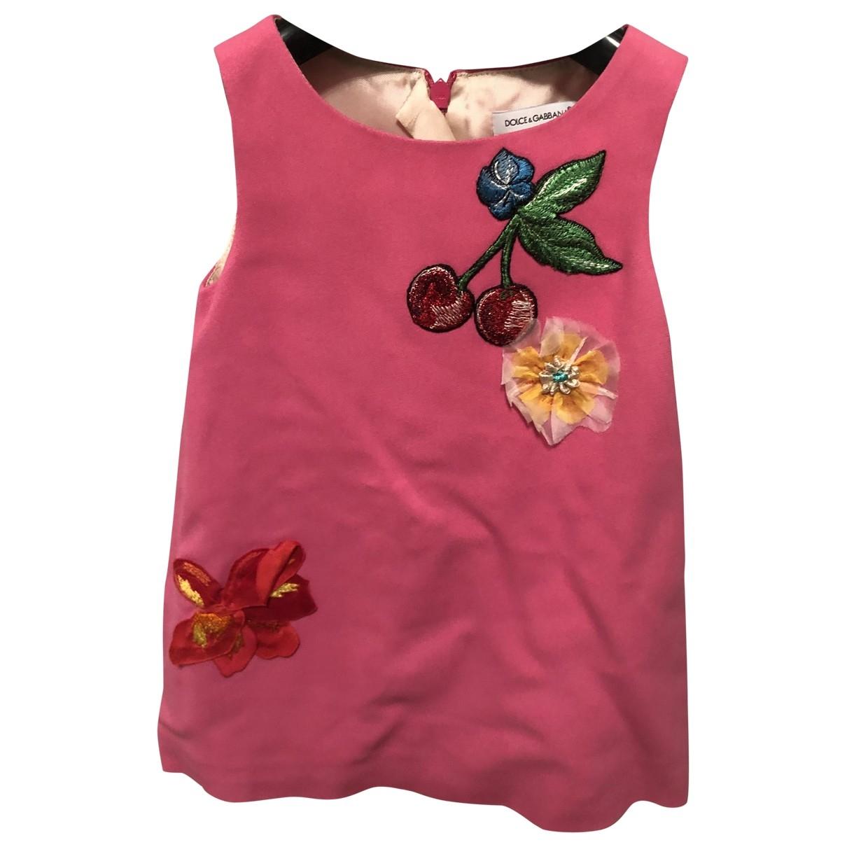 Dolce & Gabbana \N Pink dress for Kids 12 months - up to 74cm FR