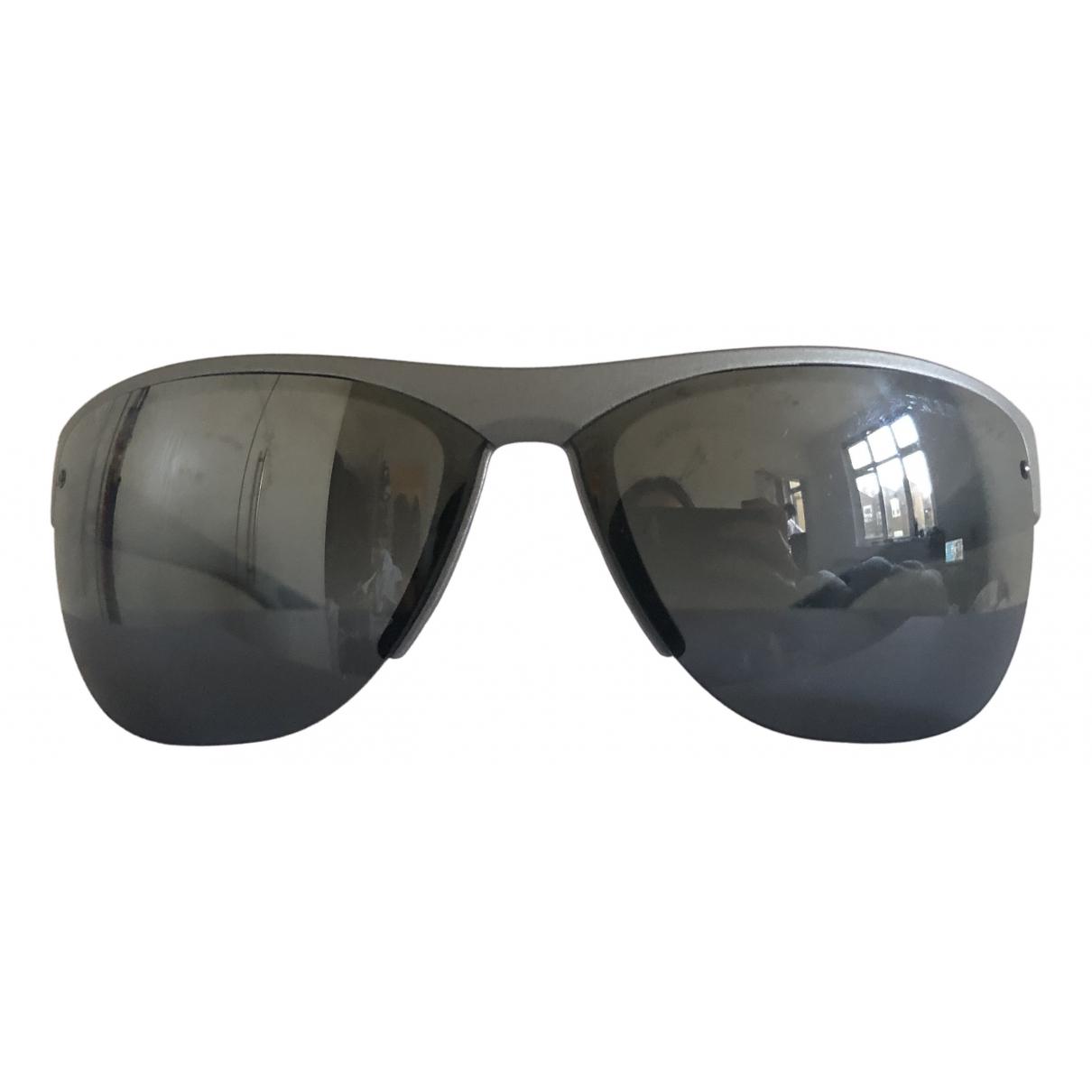 Prada \N Metallic Metal Sunglasses for Men \N
