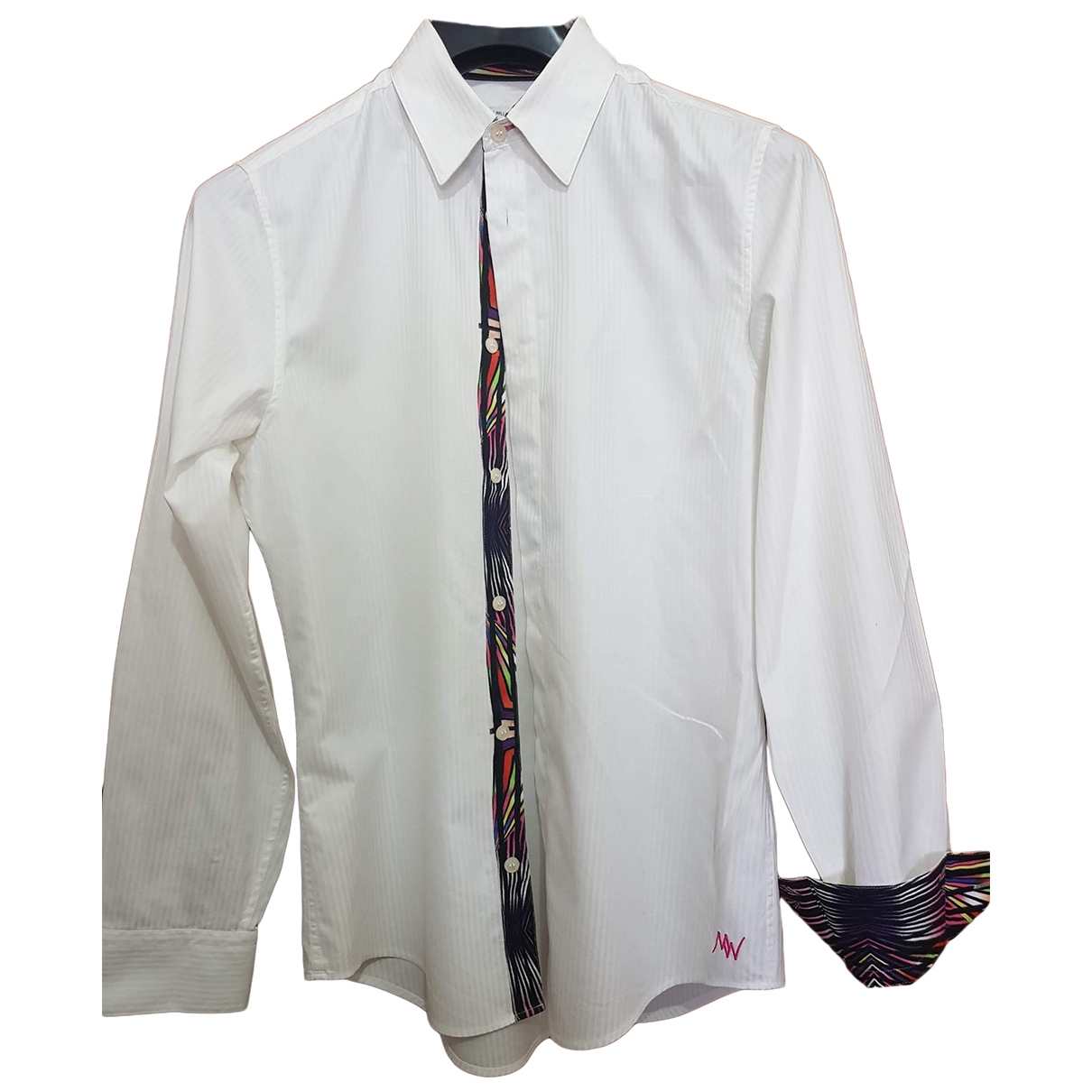 Matthew Williamson For H&m \N White Cotton Shirts for Men S International