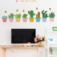 Plants Print Wall Sticker