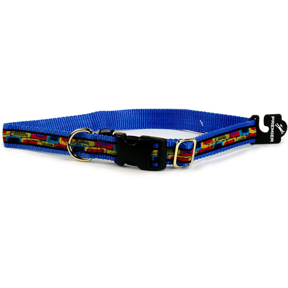 Premier Quick Snap Collar - LARGE / BLUE (17