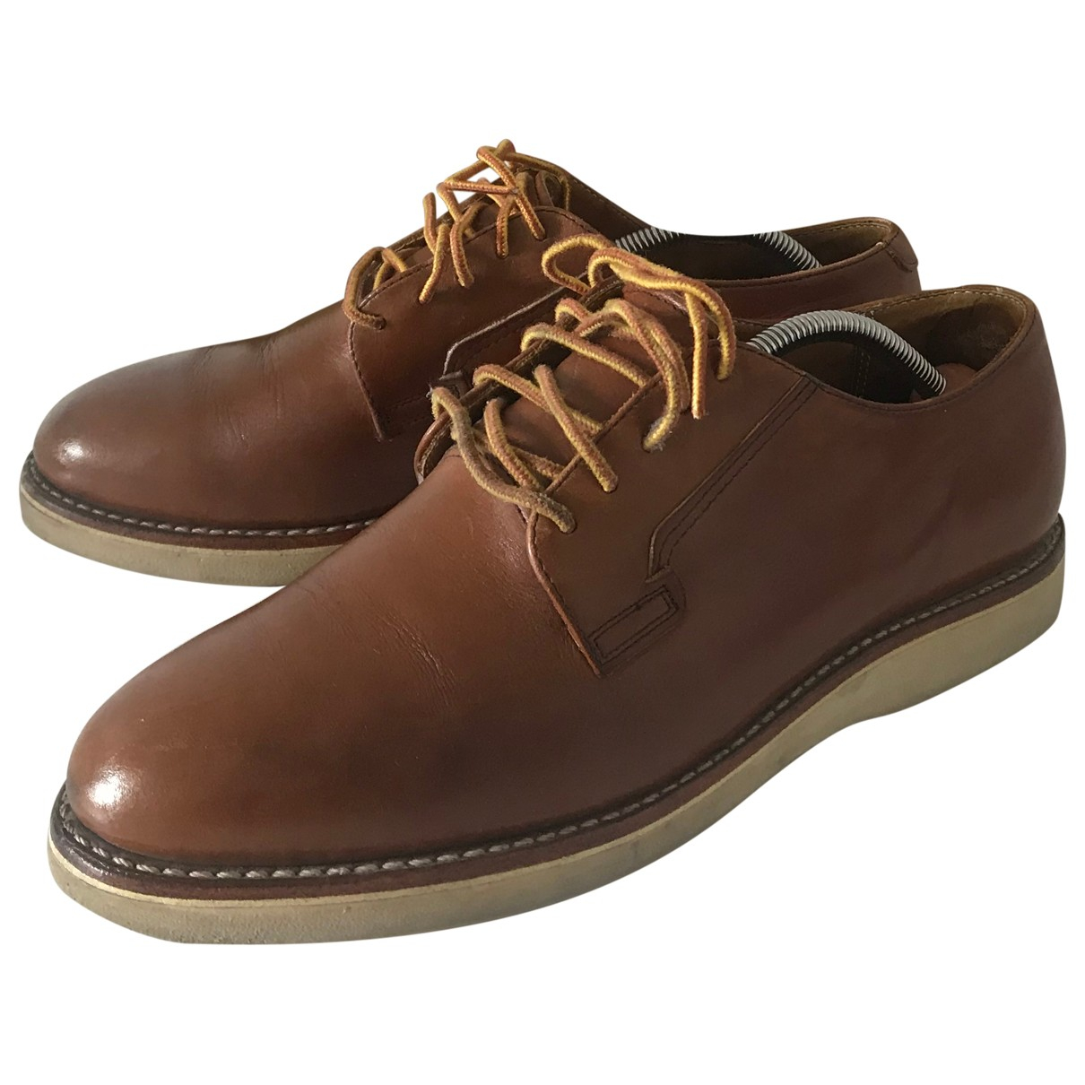 Red Wings \N Brown Leather Lace ups for Men 42.5 EU