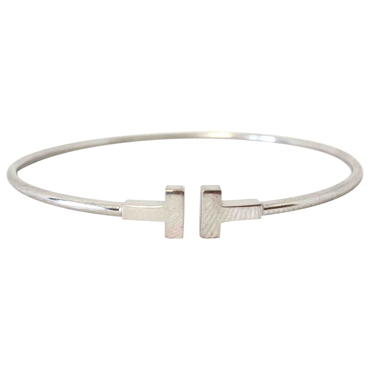 Tiffany & Co Tiffany T White White gold bracelet for Women \N