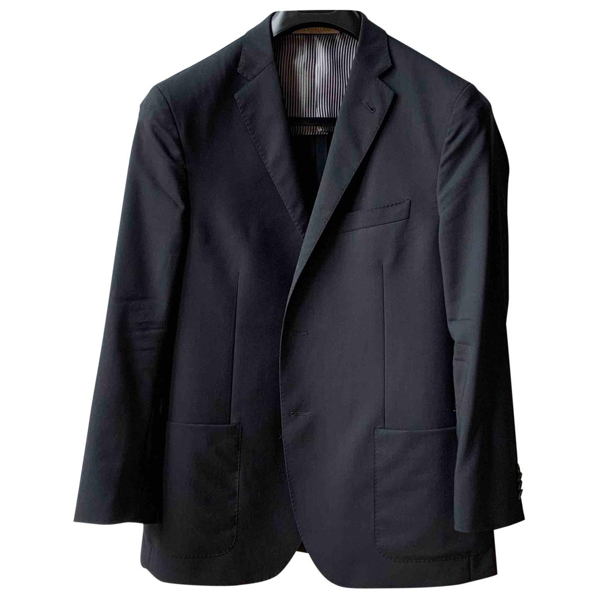 Corneliani \N Blue Wool jacket  for Men 54 IT