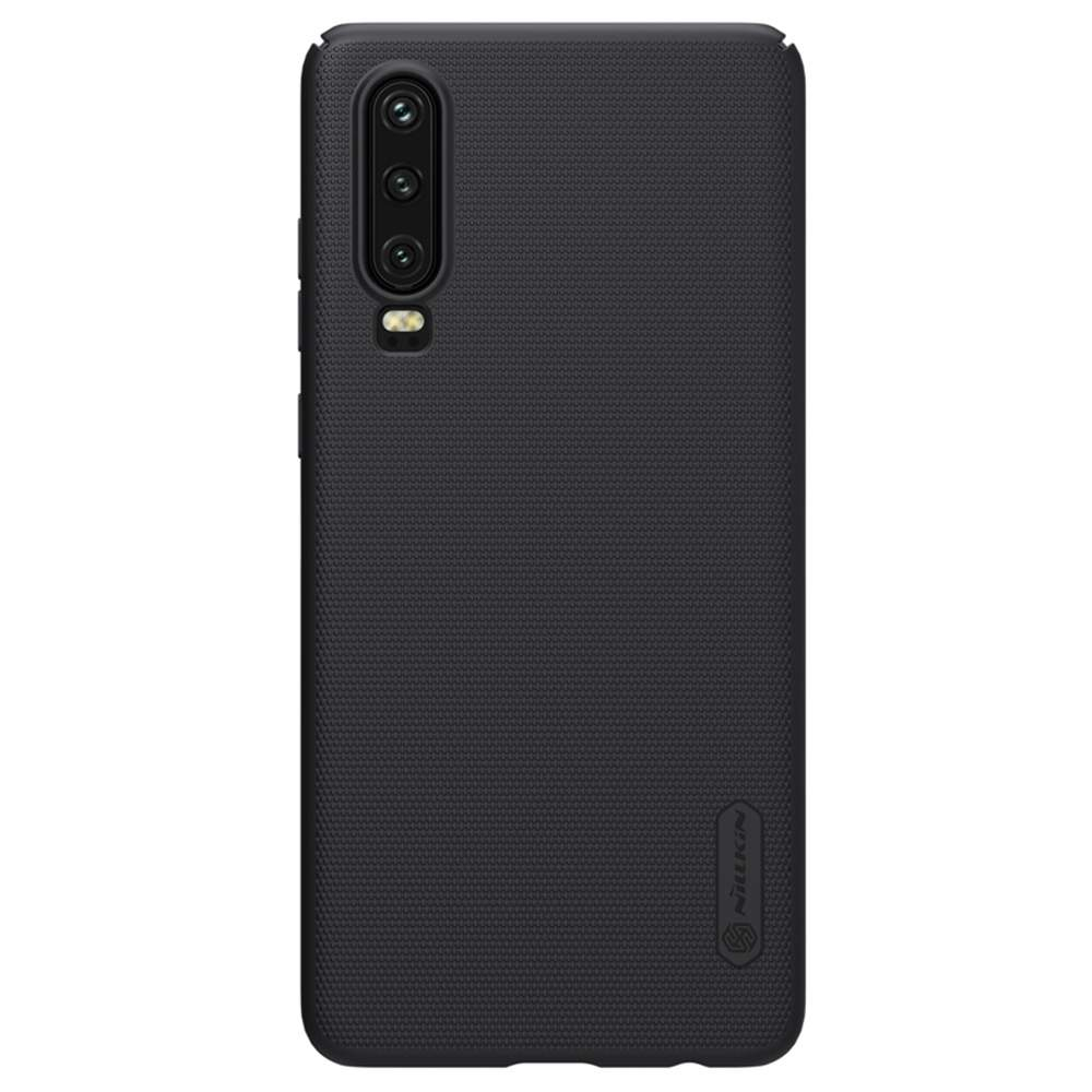 NILLKIN Protective Frosted PC Phone Case For HUAWEI P30 Smartphone - Black