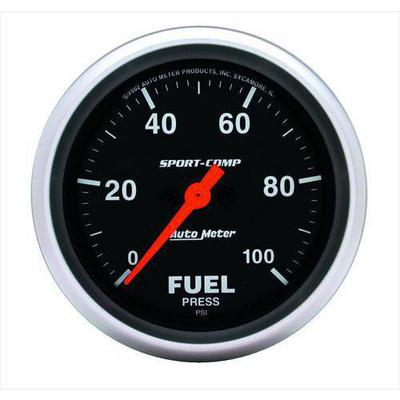 Auto Meter Sport-Comp Electric Fuel Pressure Gauge - 3563