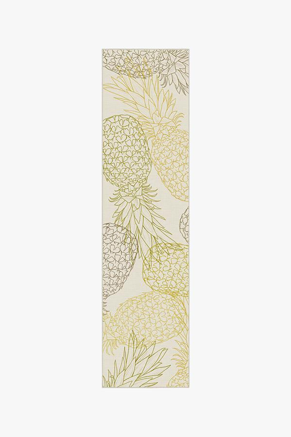 Washable Rug Cover & Pad | Pina Natural Rug | Stain-Resistant | Ruggable | 2.5'x10'