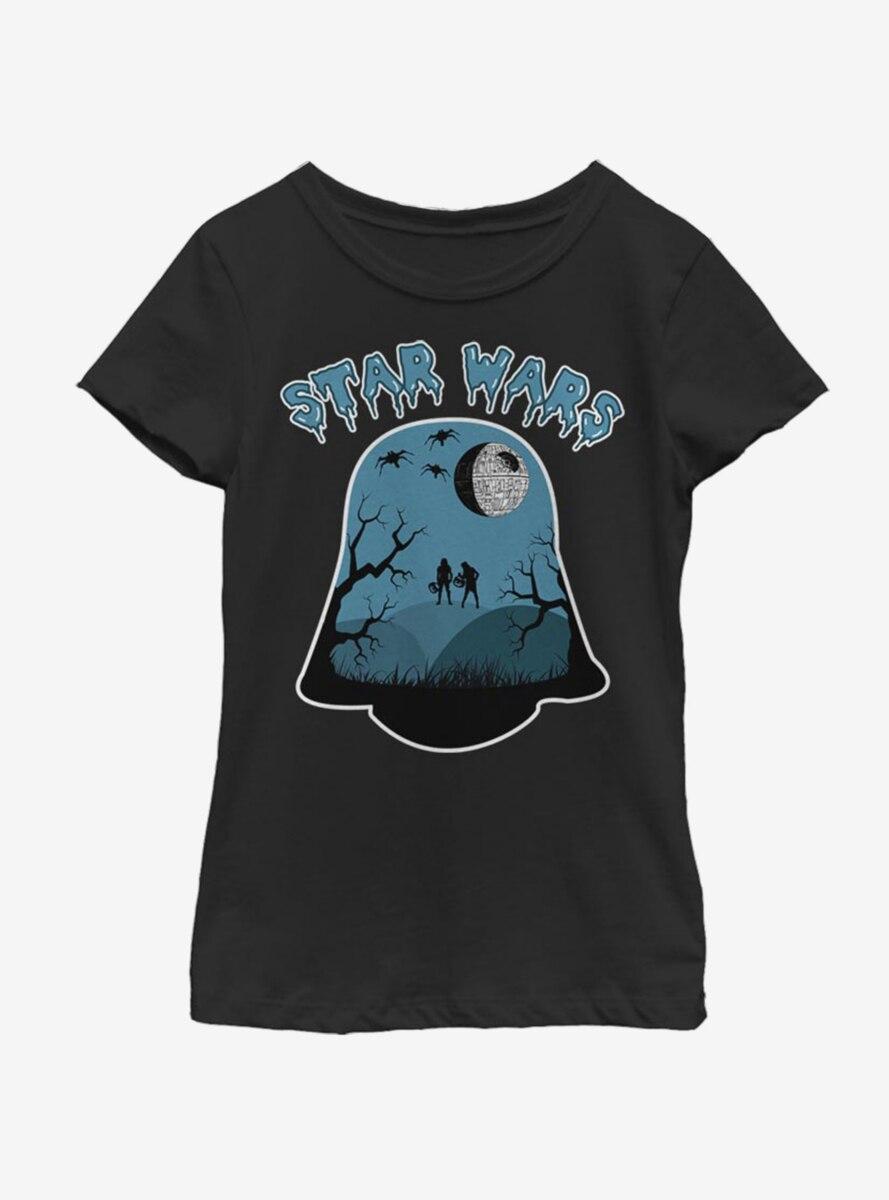 Star Wars Darth Halloween Youth Girls T-Shirt