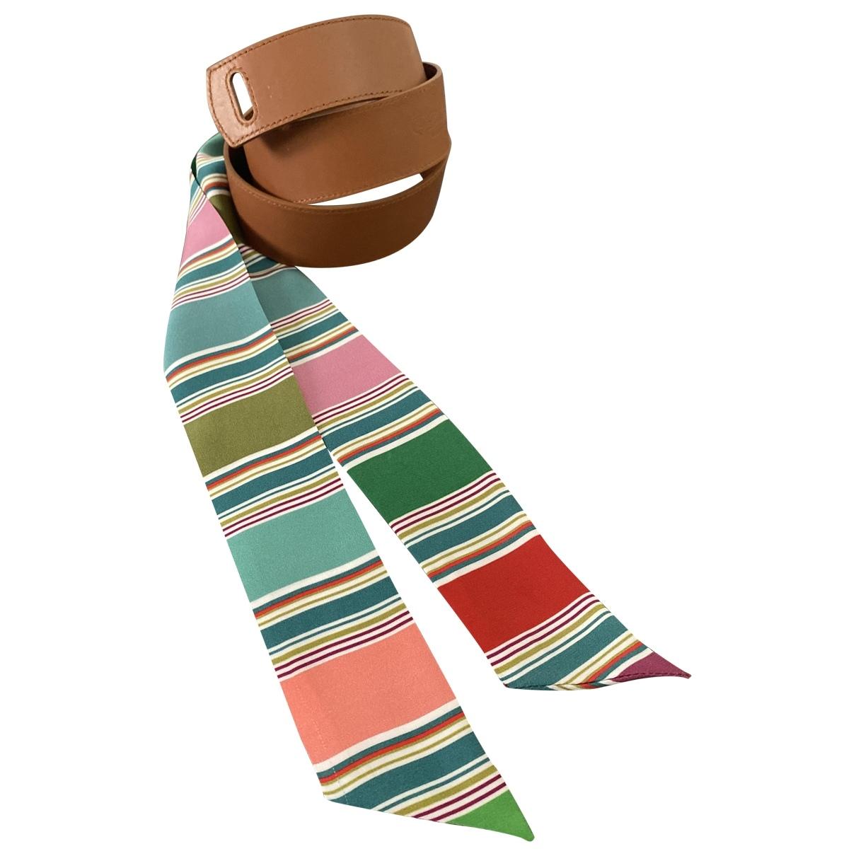 Loro Piana \N Brown Leather belt for Women S International