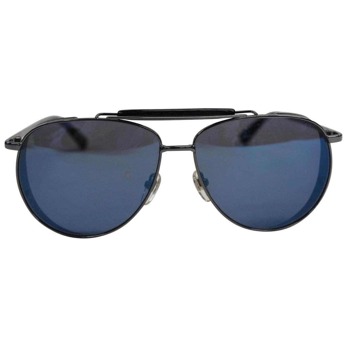 Mcm \N Anthracite Metal Sunglasses for Men \N