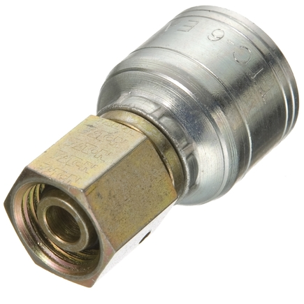 Weatherhead 04Z06C - Fittings   Hose End (Perm) 1 S/1 R Str F Metri...