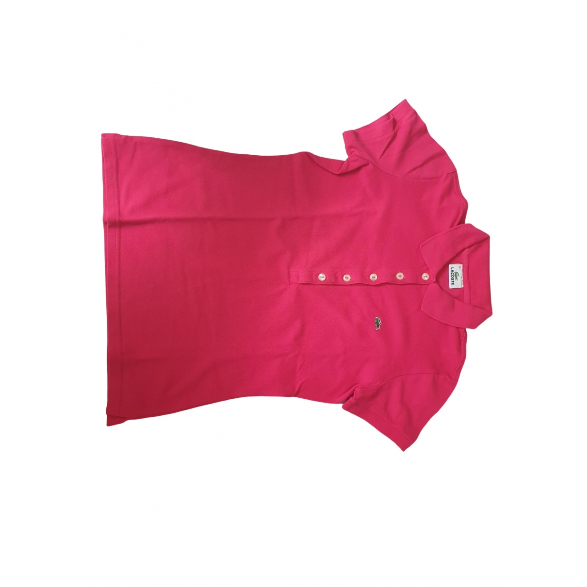 Lacoste \N Pink Cotton  top for Women 38 IT