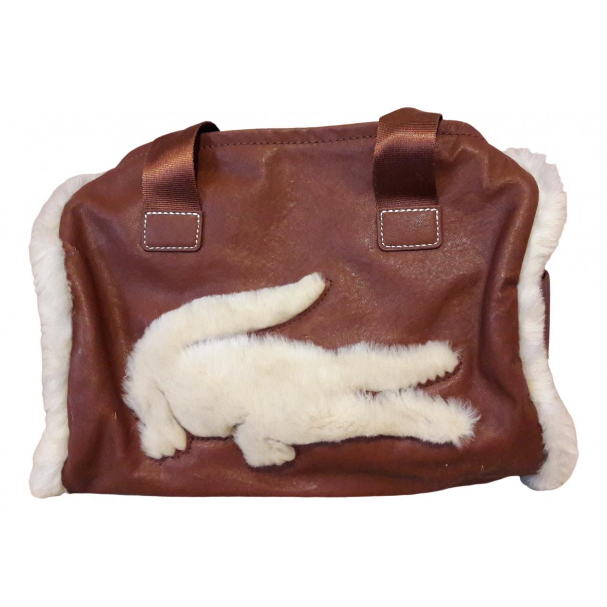 Lacoste \N Brown Fur handbag for Women \N