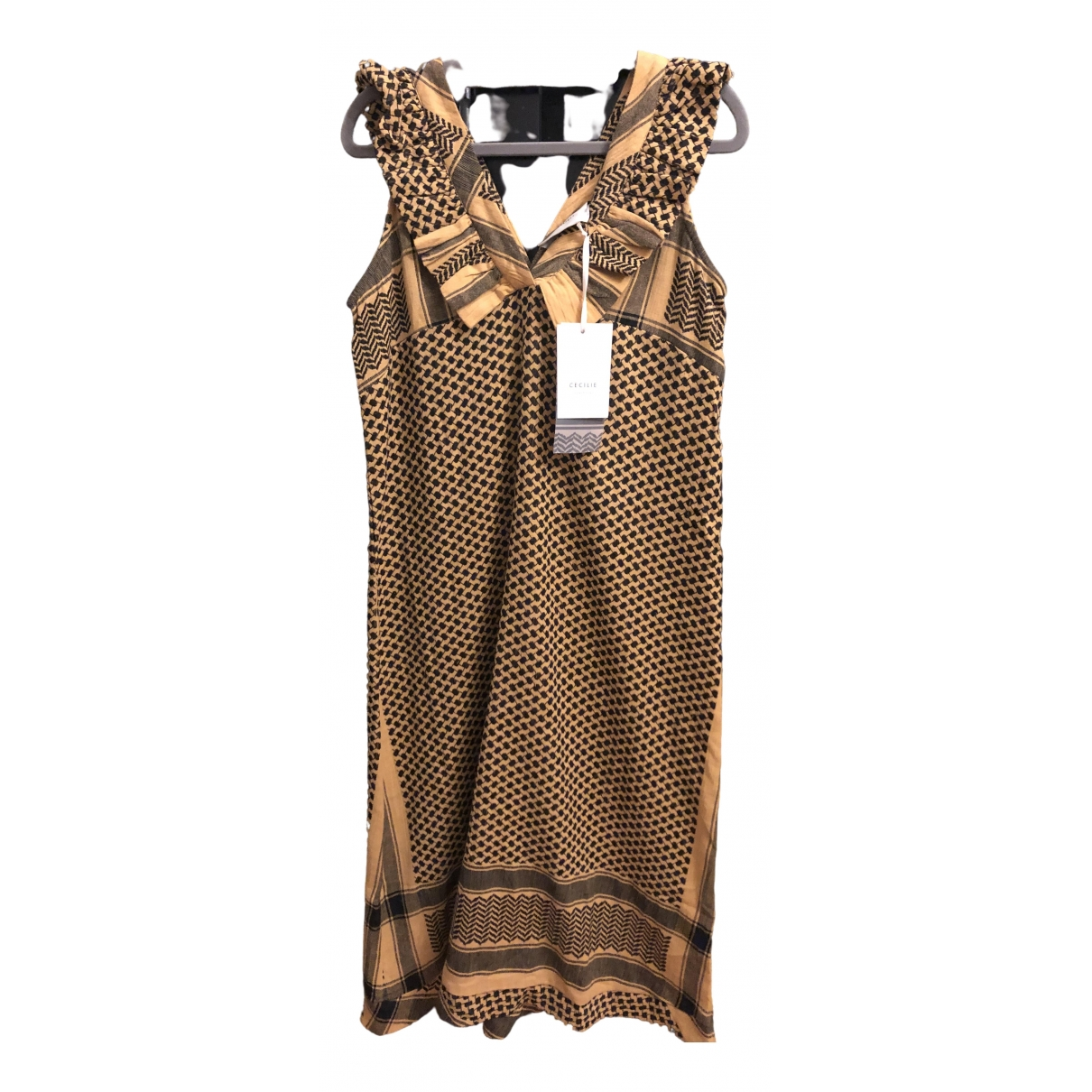 Cecilie Copenhagen \N Black Cotton dress for Women XS International