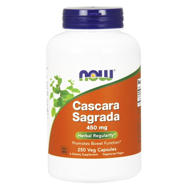 Cascara Sagrada 250 Caps by Now Foods