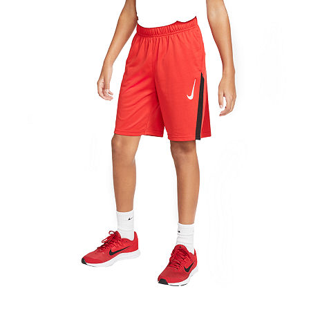 Nike Big Boys Basketball Short, Small , Red