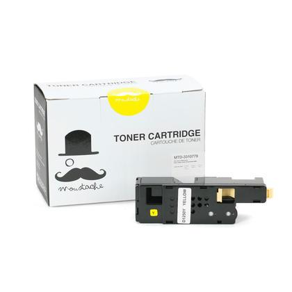 Dell 331-0779 DG1TR cartouche de toner compatible jaune haute capacité - Moustache®
