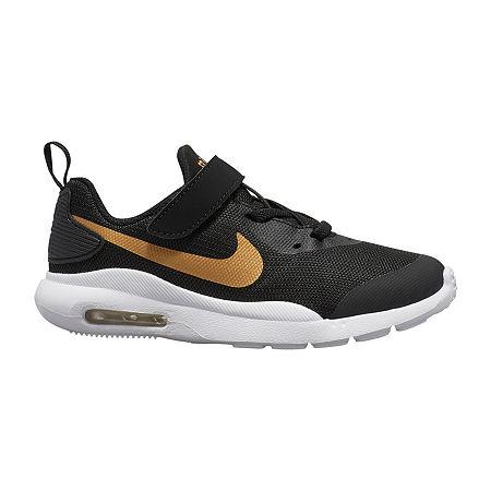 Nike Air Max Oketo Little Kids Girls Running Shoes, 12 Medium, Black