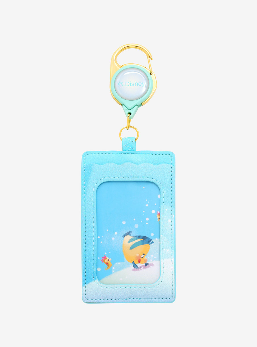 Disney The Little Mermaid Grotto Retractable Lanyard - BoxLunch Exclusive