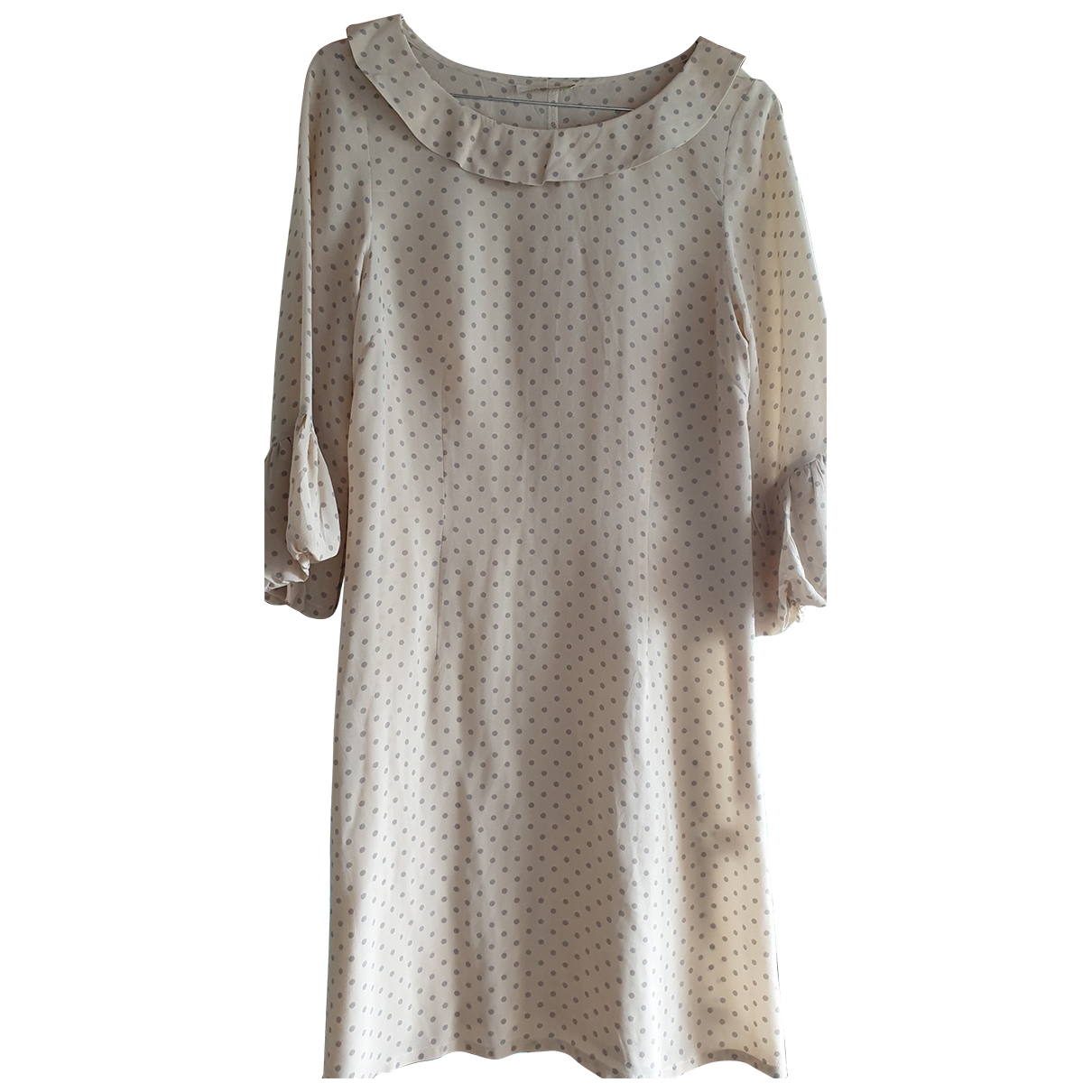 Bel Air \N Beige Silk dress for Women 1 0-5