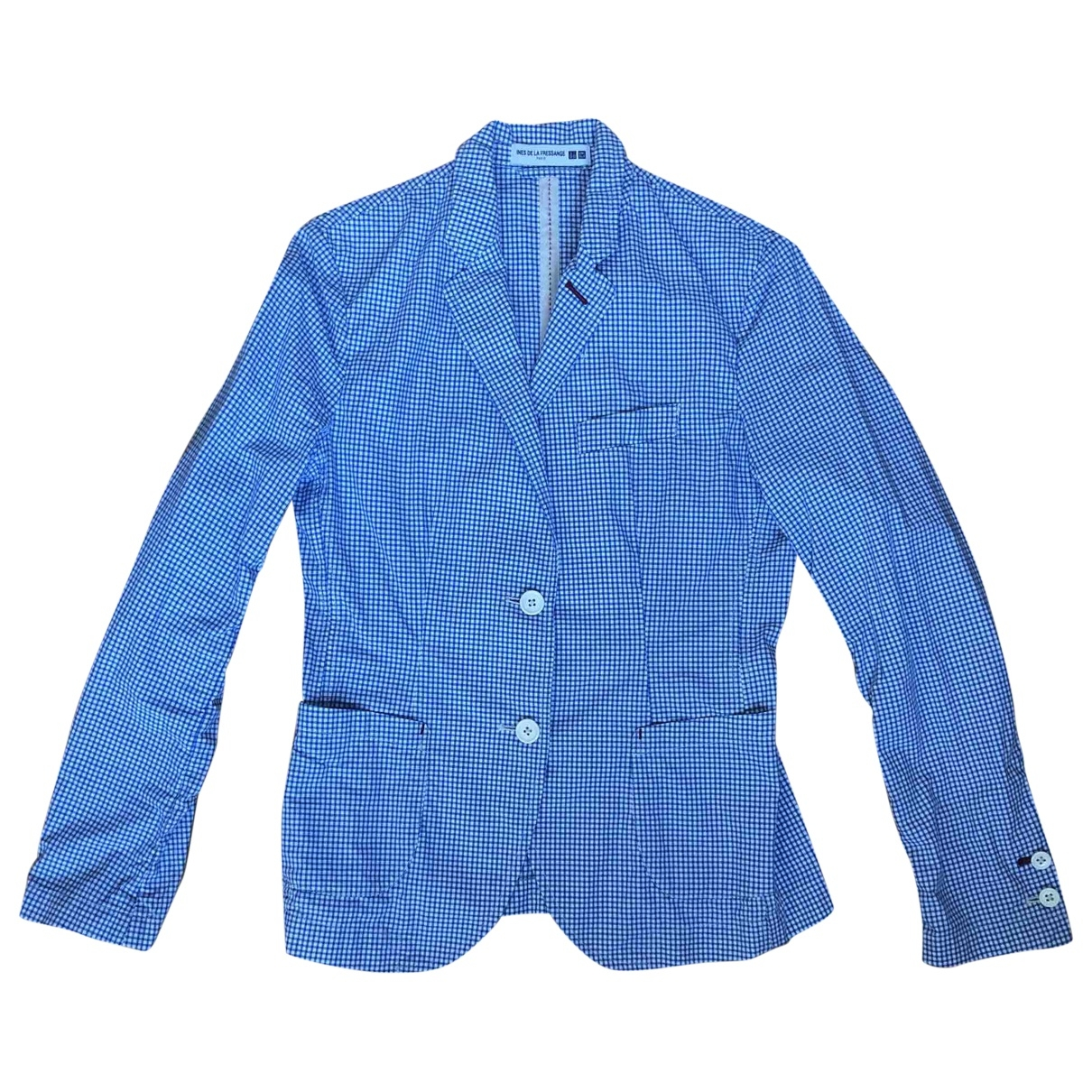 Uniqlo \N Blue Cotton jacket for Women XS International