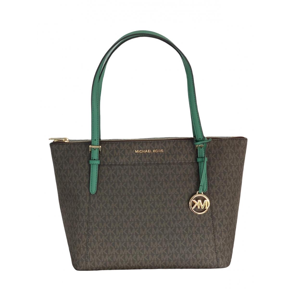 Michael Kors Jet Set Brown handbag for Women \N